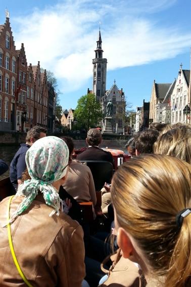 rondvaart_Jan van Eyck_Brugge_Belvilla vakantiehuizen