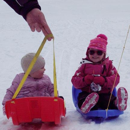 wintersport met kinderen Belvilla vakantiehuizen