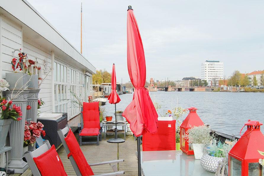 stedentrip woonboot Amstel Amsterdam Belvilla vakantiehuizen