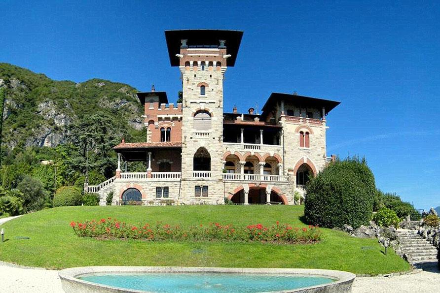 kasteel Comomeer Italië James Bond Casino Royale Belvilla vakantiehuizen