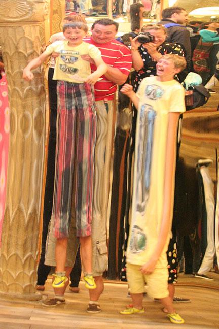 Petrínheuvel spiegelpaleis Bludiste lachspiegels stedentrip Praag met kinderen Belvilla vakantiehuizen